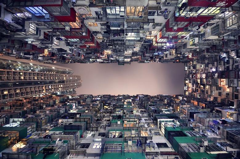 홍콩 마천루를 보는 조금 색다른 시선