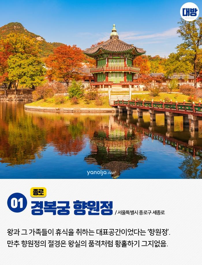 서울 근교는 물들어가는 중 도심힐링