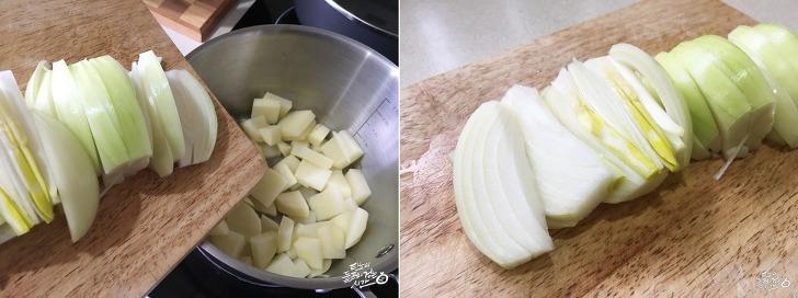 감자 짜글이 만들기, 맛있는 별미