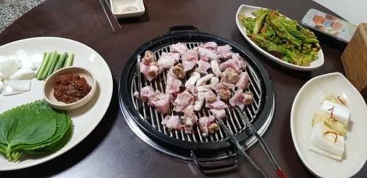 쫄깃하고 고소한 산곰장어 맛집