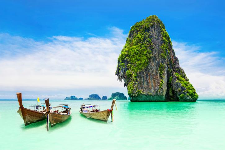아름답고 따뜻한 동남아의 해변 Top