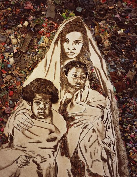 쓰레기를 이용한 예술작품