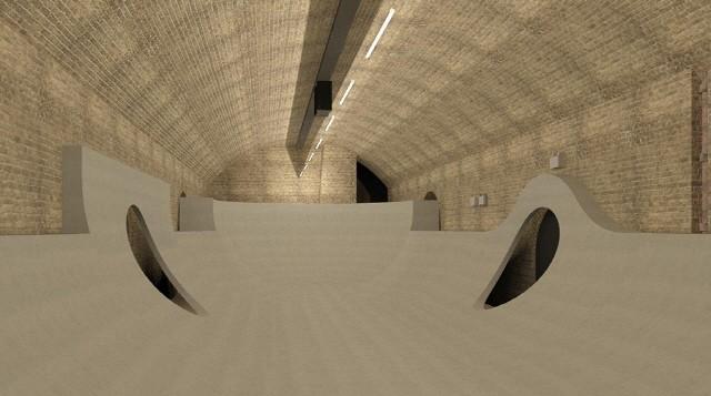 英 낡은 터널을 문화·예술 공간으로