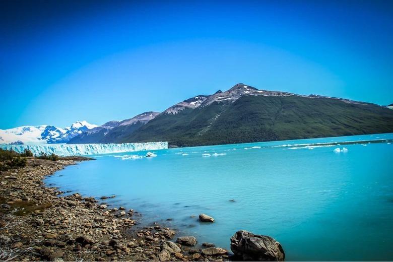 빙하에서 겨울나기 페리토 모레노 빙하