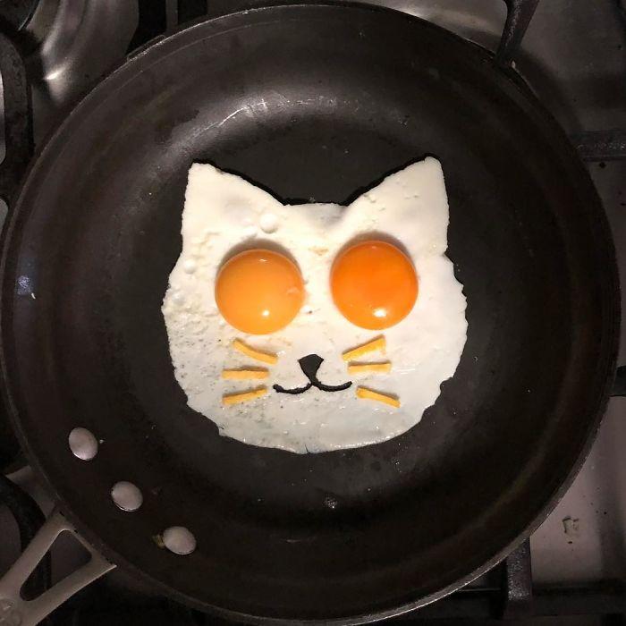 계란 프라이의 신박한 변신