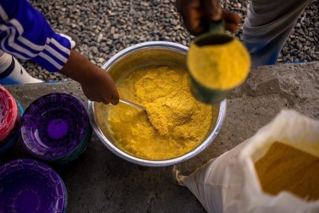 파워 가리는 기본적으로 카사바 분말이지만 콩 단백질 등을 가미해 영양소를 강화했다. 굶주림에 시달리는 아프리카 저소득층을 겨냥한 제품이다. [사진=저스트]