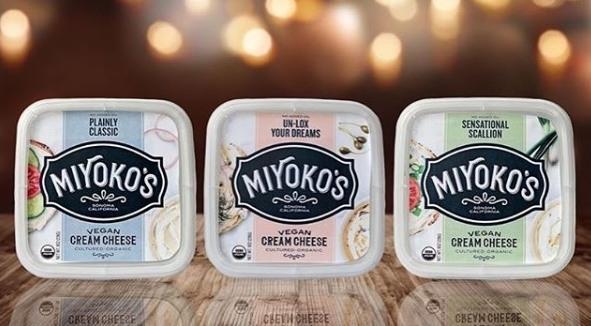미요코 키친(Miyoko's Kitchen)이 출시할 예정인 크림 비건치즈.