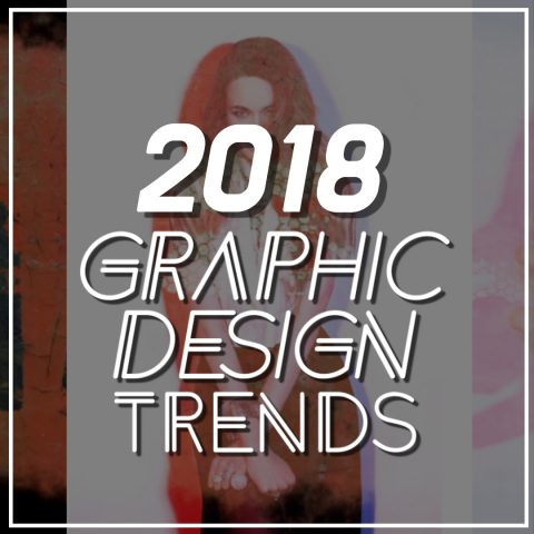 2018년 그래픽 디자인 트렌드!!
