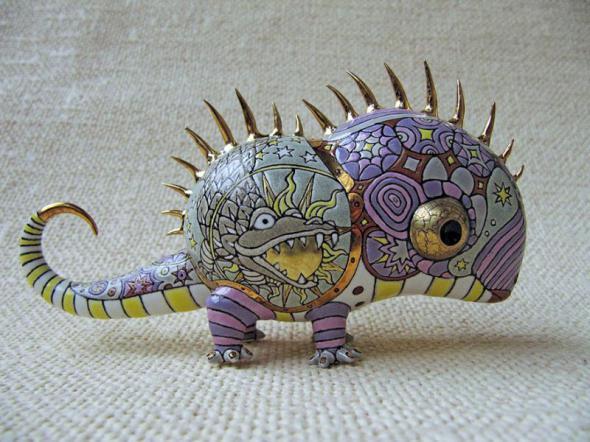 도자기로 만든 너무나 귀여운 괴물