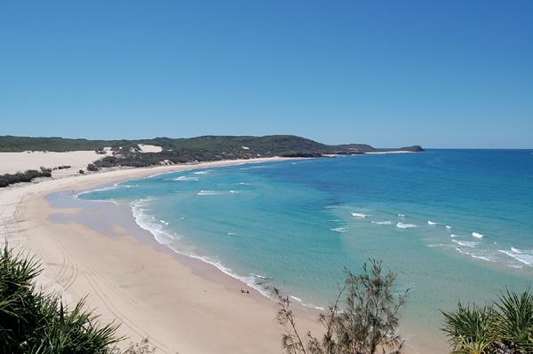 세상에서 가장 큰 모래섬 프레이저 아