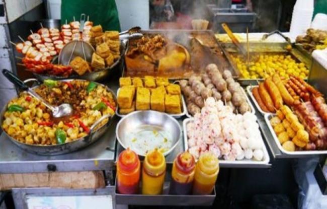 홍콩의 길거리 음식