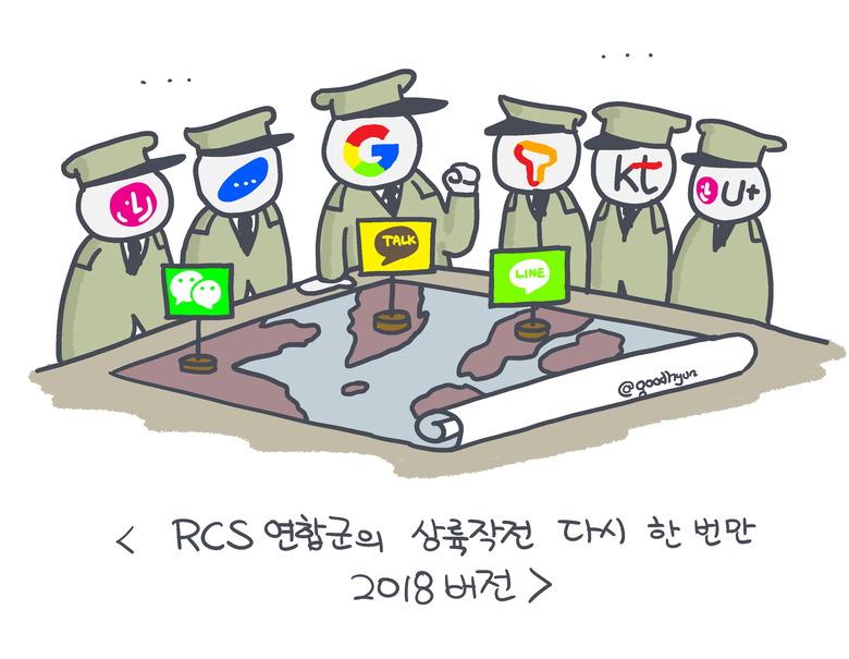 구글의 RCS 대작전, 이번에는 메신