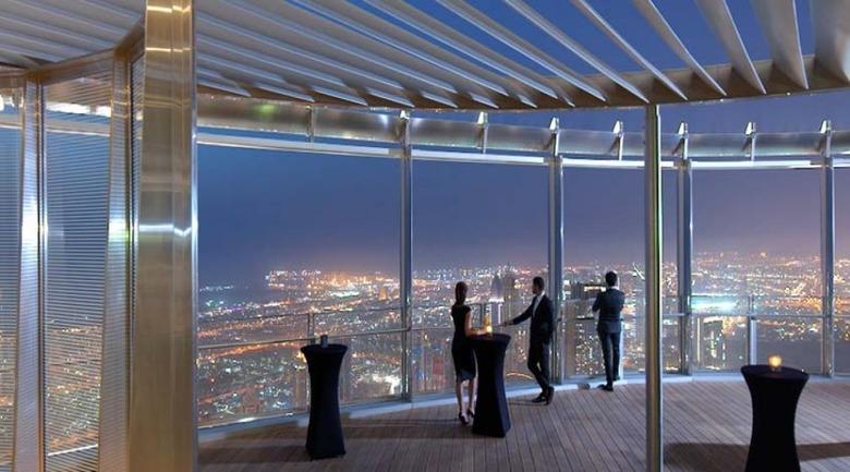 세상에서 가장 높은 빌딩, 두바이 버