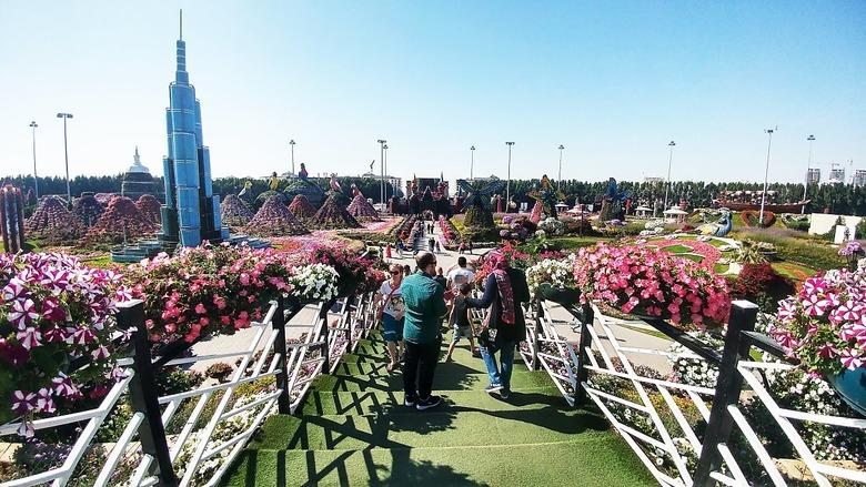 세계 최대의 정원, 두바이 '미라클