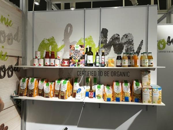 글루텐 프리, 유기농 식품을 선보인 이탈리아 식품업체 프로바이오스