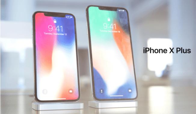6.5인치 아이폰X 플러스, 애플 '