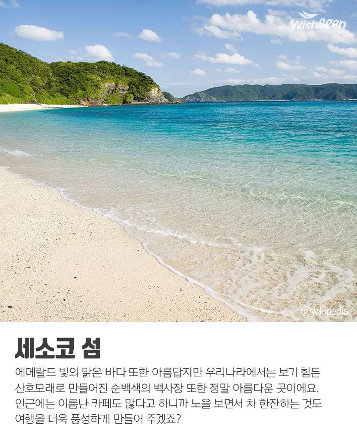 동남아 같은 일본 바다 여행지!