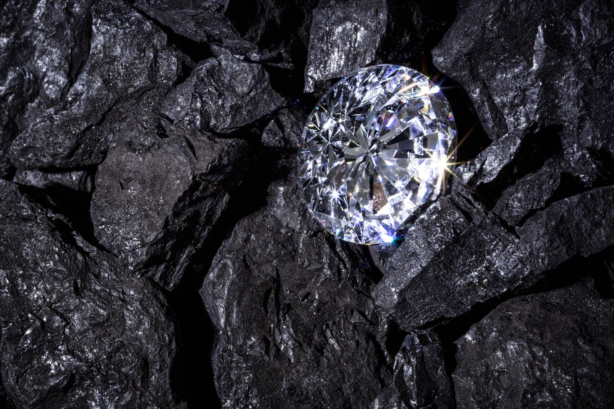 땅 속 240㎞ 아래 다이아몬드 10