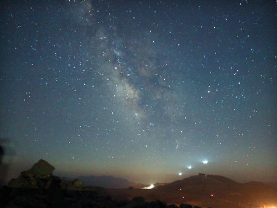 여름밤 은하수가 쏟아지는 곳, 강릉