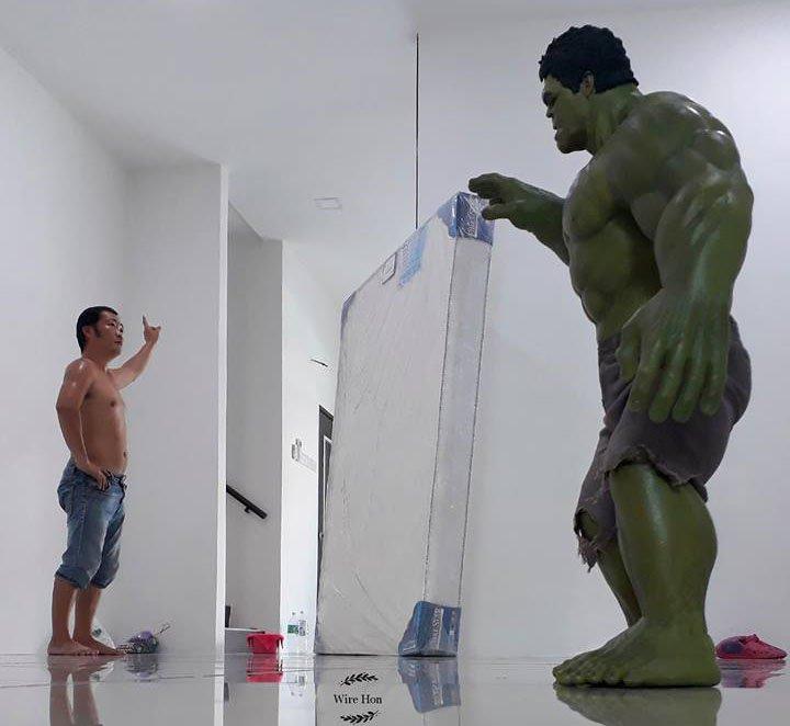 집 청소하는 마블의 슈퍼히어로들?