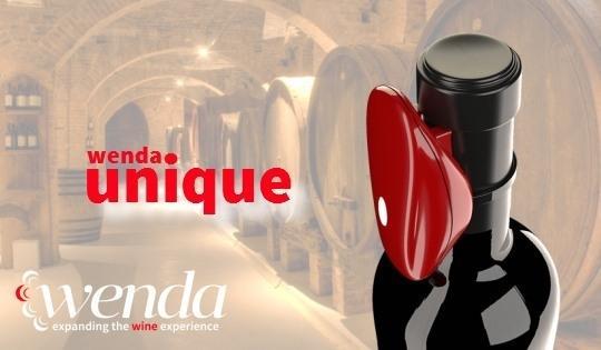 웬다가 개발한 와인 센서 '유니크'