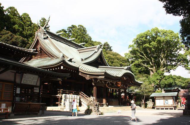 아기자기한 일본 소도시서 추억의 파노