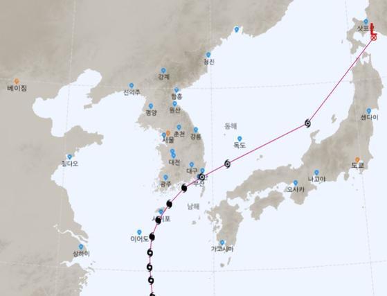 2년만에 초강력 가을태풍 콩레이…주말