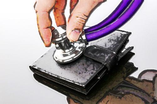 """부자들이 지갑을 사용하는 방법 """"가난"""