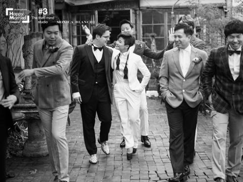 김혜선, 독일인 남자친구와 웨딩 화보
