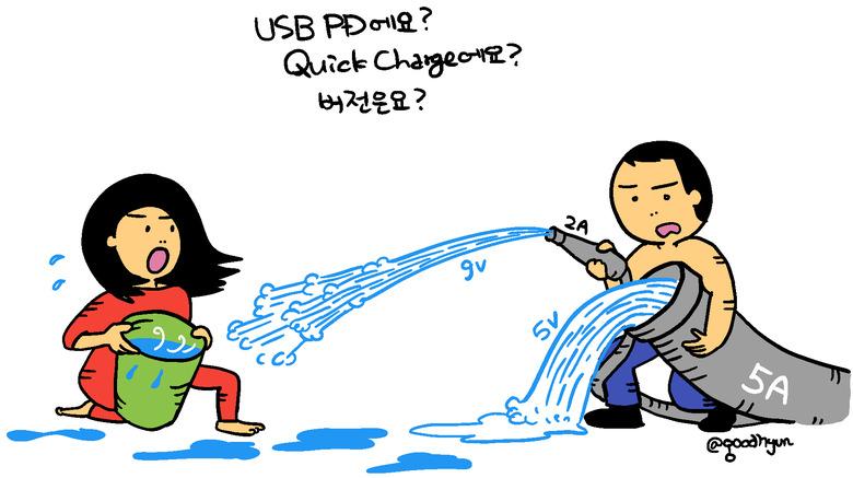 USB PD? QC? 고속충전 상식