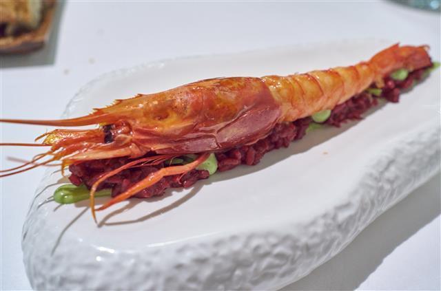 온 바다를 품은 맛, 갑각류로 만든