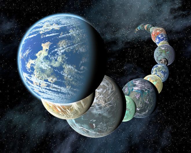 """""""실제 거주 가능 외계행성 수 2~1"""