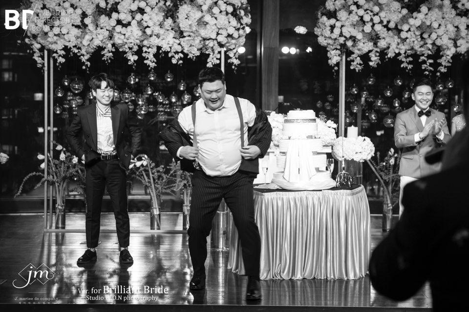 하객만 1400명…개그맨 이광섭 결혼