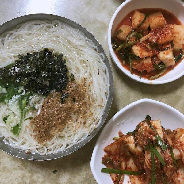 쌀쌀한 날 생각나는 온(溫)국수 맛집