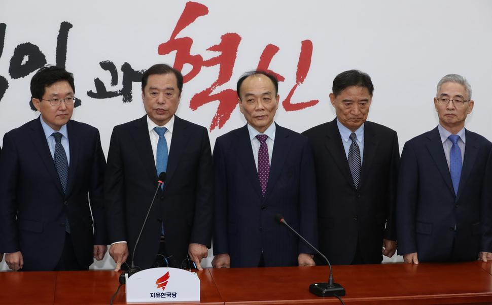 전원책 폭로 기자회견 연다… 한국당