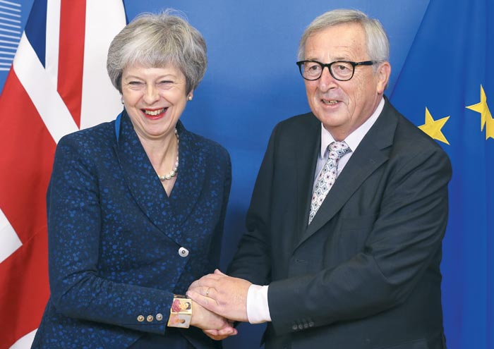 브렉시트 합의문, 英·EU 공식 서