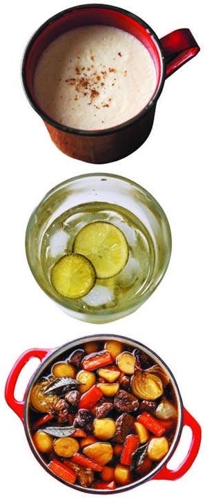 따끈한 와인 칵테일 '뱅쇼' 한잔…