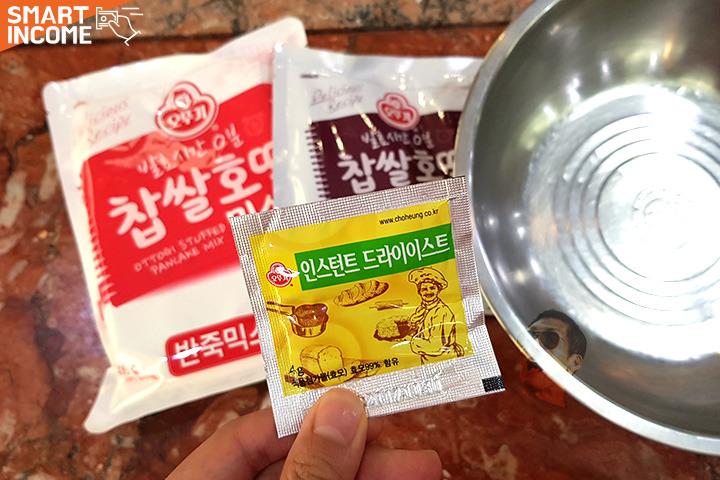 장인 손길 따라잡는 길거리표 호떡 맛