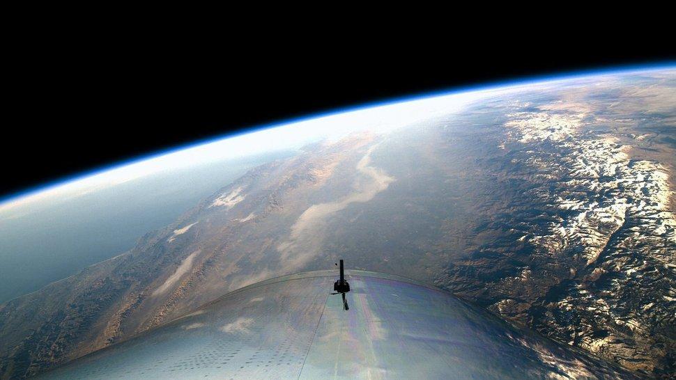 버진 갤럭틱도 우주 경계선 넘다…우주