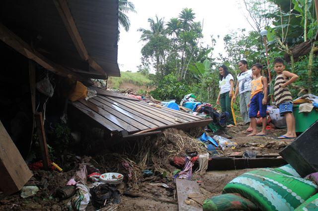 필리핀, 연말에 또 열대폭풍 덮쳐…