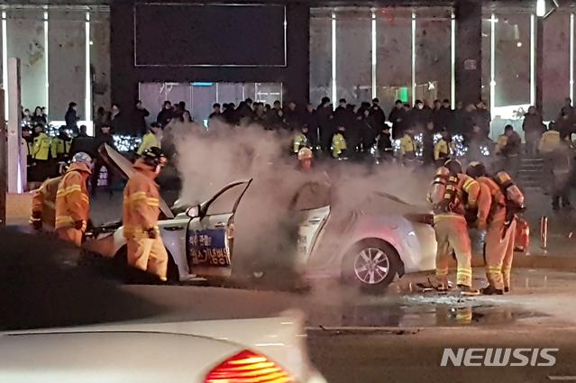 '카풀 반대' 또 택시기사 분신 사망
