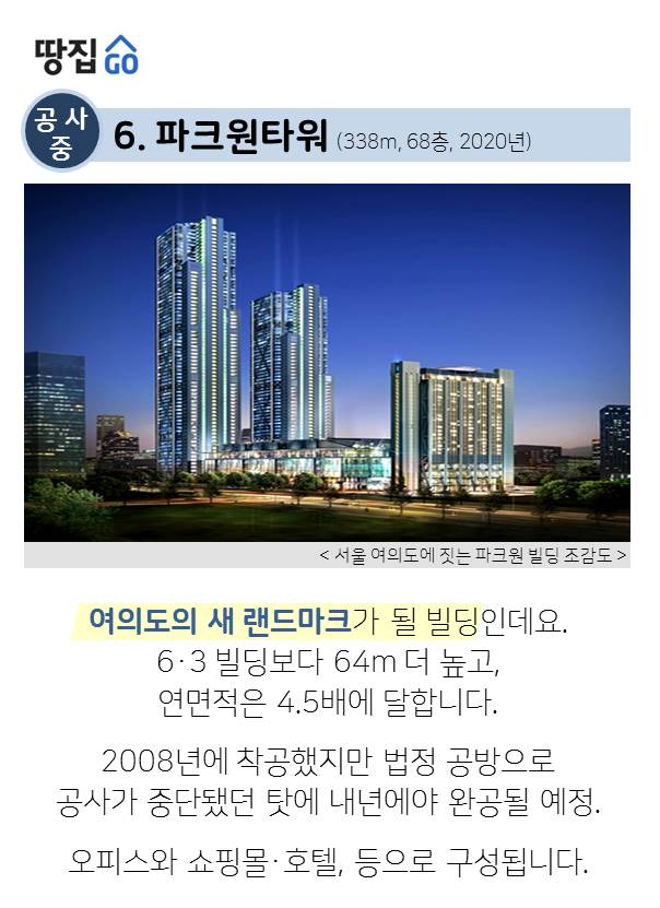 '초고층 빌딩 TOP 10' 보니..