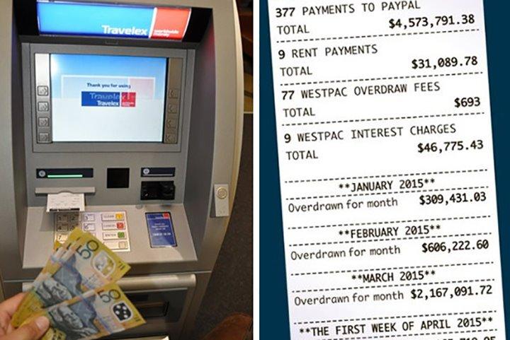 은행 잘못으로 50억 입금받고 3년간
