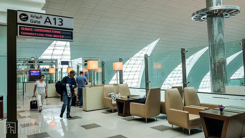 에미레이트항공 비즈니스클래스 라운지