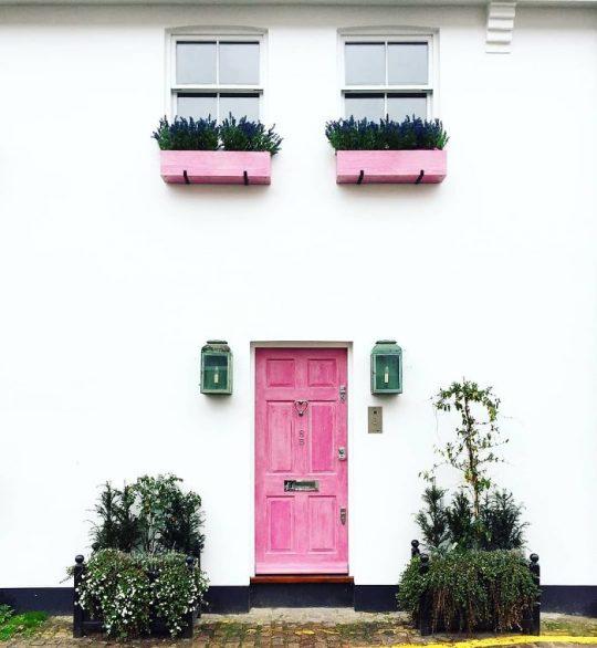 영국 런던의 가장 아름다운 현관문들