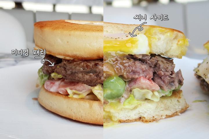 5성급 호텔버거 VS 2000원 햄버