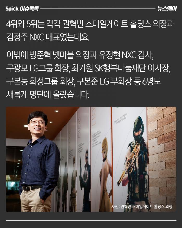 한국 최고 부자(富者)는 부자(父子)