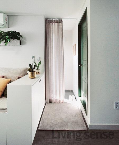 15평 좁은 집, 수납공간 잘 만들어