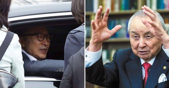 """김장환 목사 """"MB, 내가 다녀가야"""
