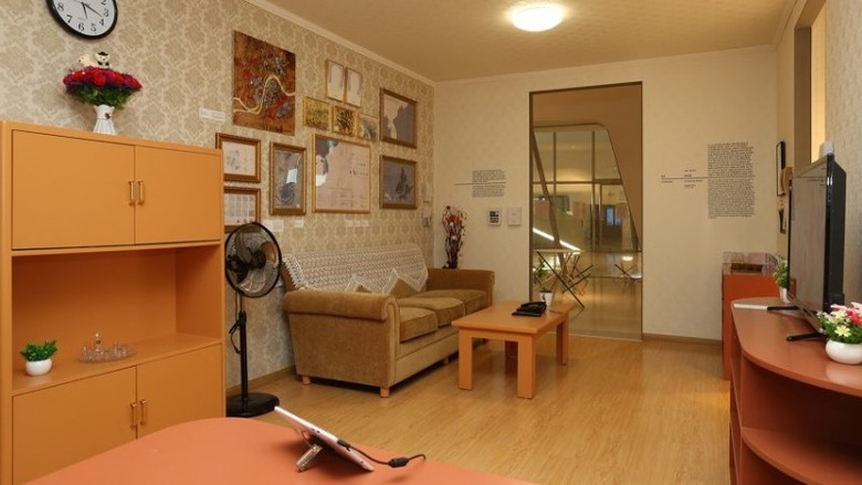 평양 '다층 살림집' 디자인